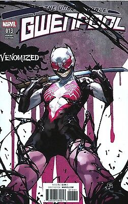 Gwenpool #13 (2017) Venomized Variant 1st Print NM