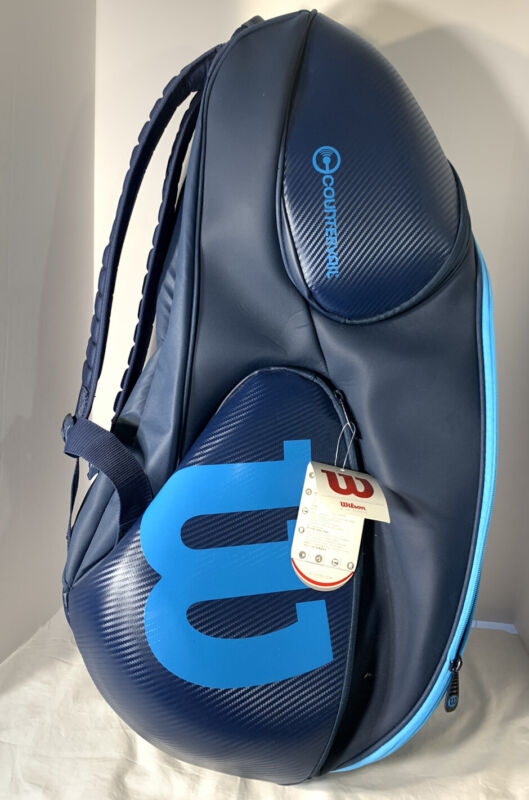 Wilson Countervail Tennis Bag Backpack 9 Pack Blue 2017 WRZ-843709