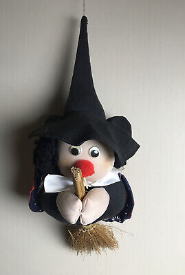 Halloween Witch Flying Broom Fun Scary Small Halloween Decoration