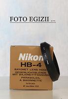Nikon Hb-4 Paraluce Nuovo E Originale Foto Video Made In Japan - nikon - ebay.it