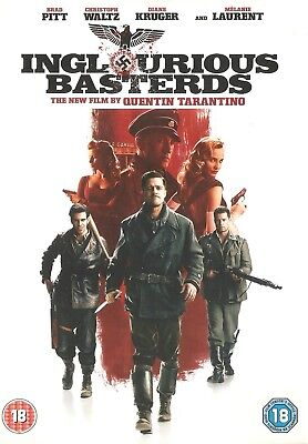 Inglourious Basterds (DVD 2009) Good Condition - Proceeds to registered Charity