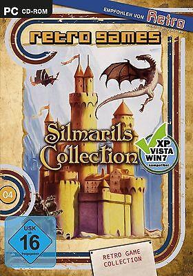 PC Silmarils Collection 16 ARCADE SPIELE ADVENTURES SHOOTER ROLLENSPIEL *NEU*NEW