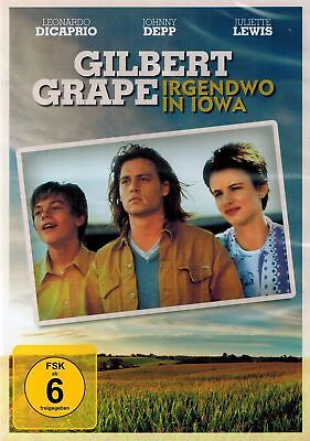DVD NEU/OVP - Gilbert Grape - Irgendwo in Iowa - Johnny Depp & Leonardo DiCaprio ()