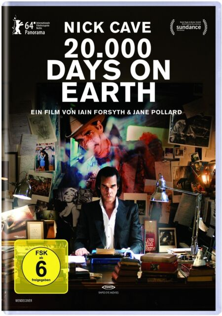 Nick Cave: 20.000 Days on Earth DVD NEU + OVP!