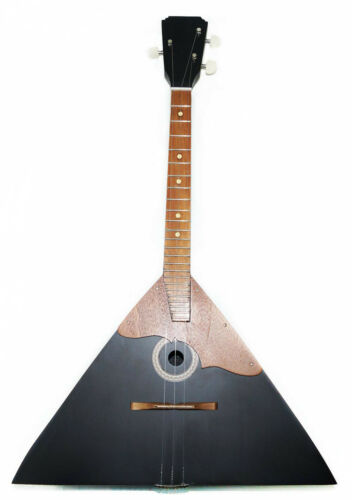 Brand New Russian Balalaika, 3 Strings, Prima. High Quality! Natural Wood!Black!