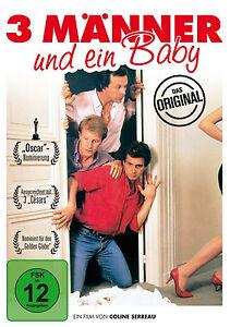 3-TRES-HOMBRE-y-amp-1-EIN-Bebe-El-Original-1986-Coline-Serrau-DVD-nuevo