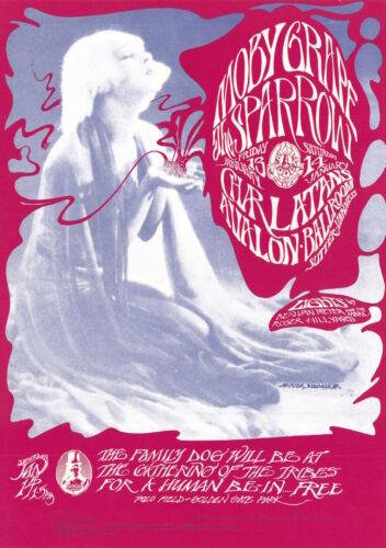MINT Charlatans Grateful Dead 1967 FD 43 Human Be-In Avalon Ballroom Poster