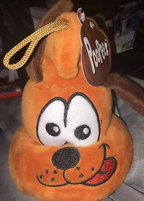 Emoji With Tongue Out (Poopeez  New Plush Dog With Tongue Sticking Out - Brand New - Emoji)