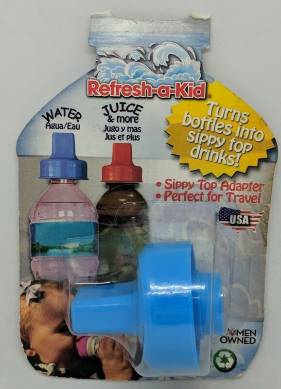 Refresh A Kid Turns Battles Into Sippy Top Drinks - Sippy Top Adapter - New