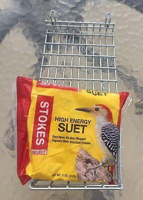 Stokes Select High Energy Suet plus Bird Feeder Cage.