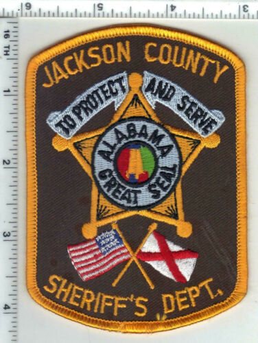 Jackson County Sheriff (Alabama) 4th Issue Shoulder Patch