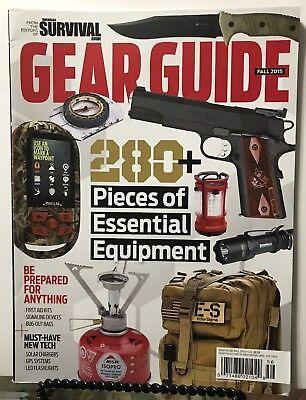 (American Survival Guide Gear Guide Equipment Tech Fall 2015 FREE SHIPPING JB)