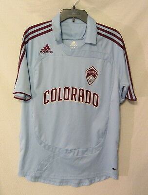 Colorado Rapids MLS adidas climacool jersey mens M ~ EUC ecc376074