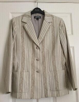 Ladies Spring Summer Jacket By Kasper Size 10