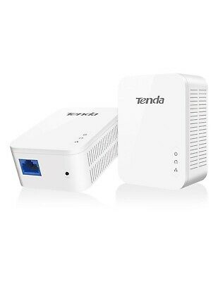 TENDA PH3 Powerline Kit 2 Adaptador Up A 1Gbps+ 1LAN 1GBbps Facturable