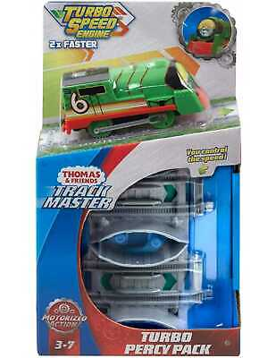 Thomas & Friends Track Master Turbo Speed Percy Pack The Tank Engine 2x Faster