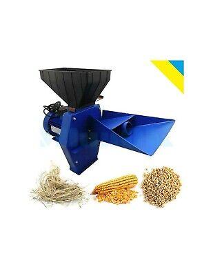 Feed Mill Grinder Corn Grain Oats Wheat Hay Straw Crusher 1700w 220240v