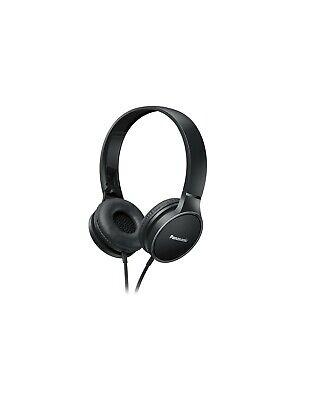 Panasonic RP-HF100ME-K Auriculares Diadema Cerrados con Cable Negro
