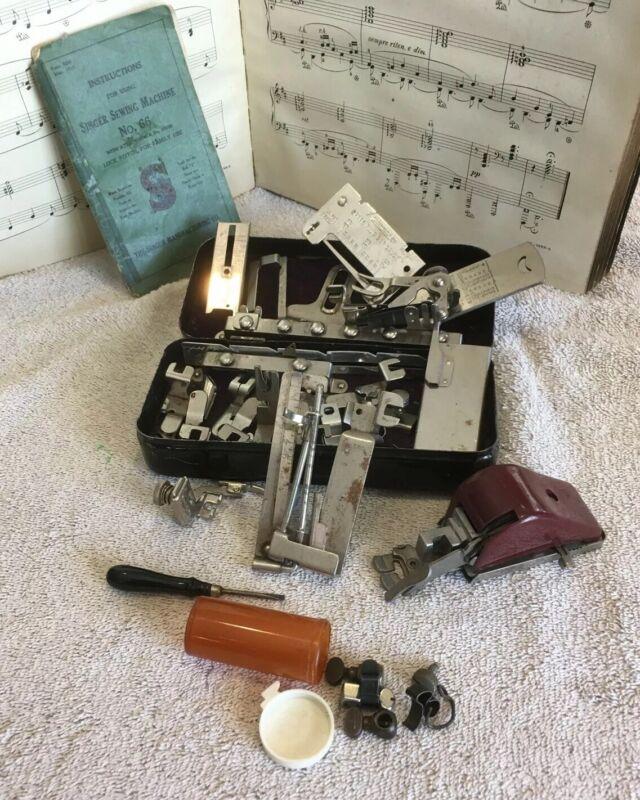 antique singer sewing machine parts