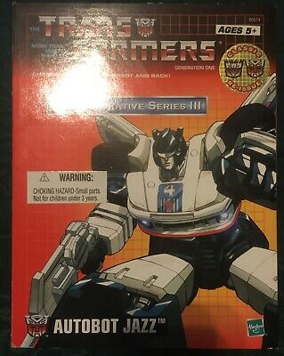 Transformers Commemorative Series III Autobot Jazz Accessories Box Instructions