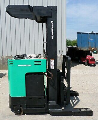 Mitsubishi Model Esr36 2002 4500 Lbs Capacity Great Reach Electric Forklift