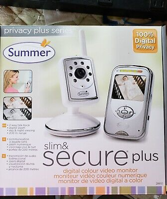 Summer Infant-Slim and Secure Plus Video Baby Monitor and Camera.