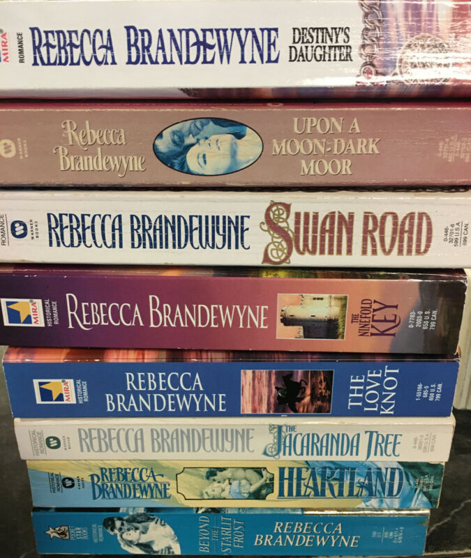 Lot Of 8 Rebecca Brandewyne Romance Paperbacks