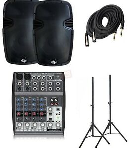 Kit de son speakers dj karaoke