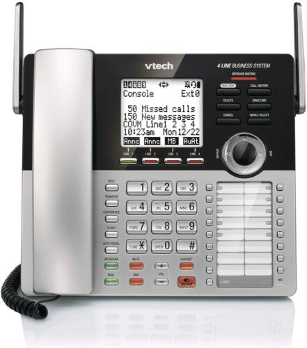 Vtech CM18245 4 Line Business Office Phone Expandable with Answering System