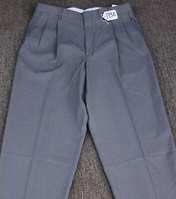VINCE RETRO DRESS PANTS- SHOULD BE HEMMED - W36 X L37. TAG NO. 193K