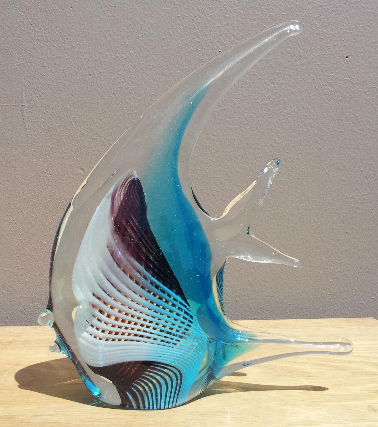 Blown glass angel fish - photo#14