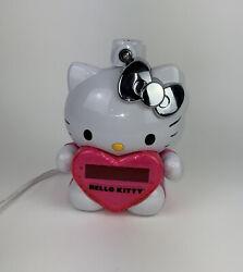 HELLO KITTY  AM/FM  Projection ALARM  CLOCK  RADIO Collectible  #KT2064