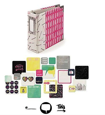 We R memory Keepers 4x4 Ring Album Kit ~ IT FACTOR  -100cards ~62509-4 ()