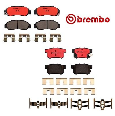Brembo Brake Pads Front & Rear For Acura Integra Type-R-P28026N/P28022N