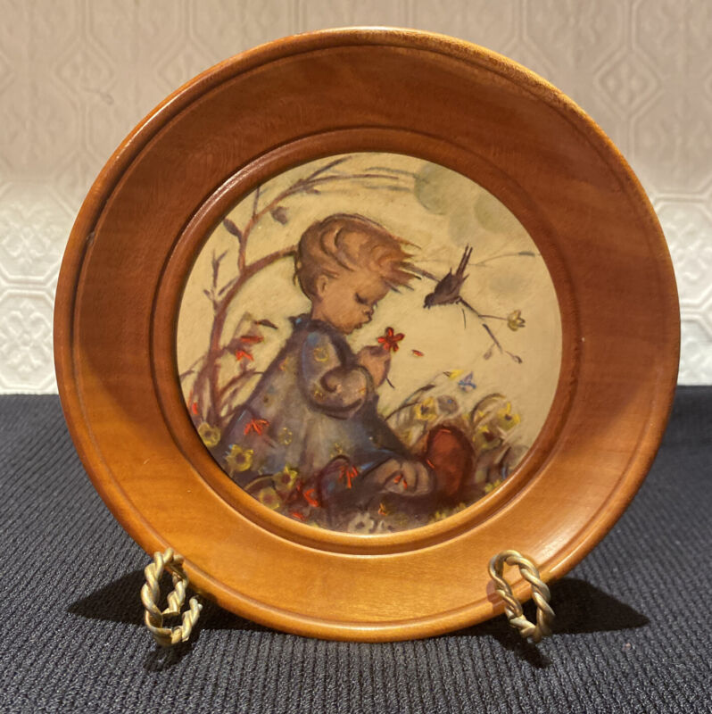 Reuge Music Box, Wood Framed Plaque, Pull Cord Plays Laura's Theme Dr Zhivago