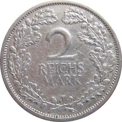 J320  2 Mark Weimar von 1926 J in SS   682 021