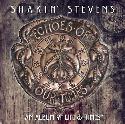 Shakin Stevens - Echoes Of Our Time **NEW RELEASE** Black Vinyl (New/Sealed)