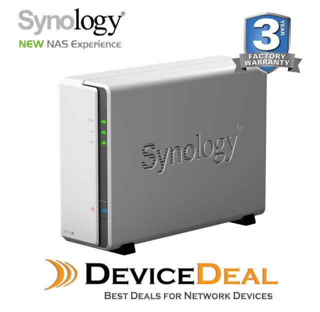 Synology DiskStation DS115j 1-Bay NAS - Marvell Armada 800MHz CPU