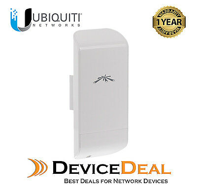 Ubiquiti Networks locoM5 5GHz 13dBi Indoor/Outdoor airMAX CPE  One Year Warrany for sale  Shipping to United States