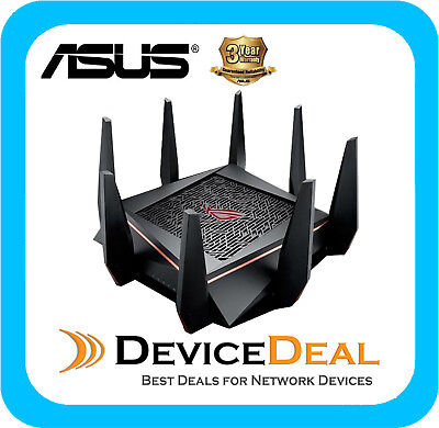 ASUS ROG Rapture GT-AC5300 Tri-band MU-MIMO Wireless Gaming Router - NBN