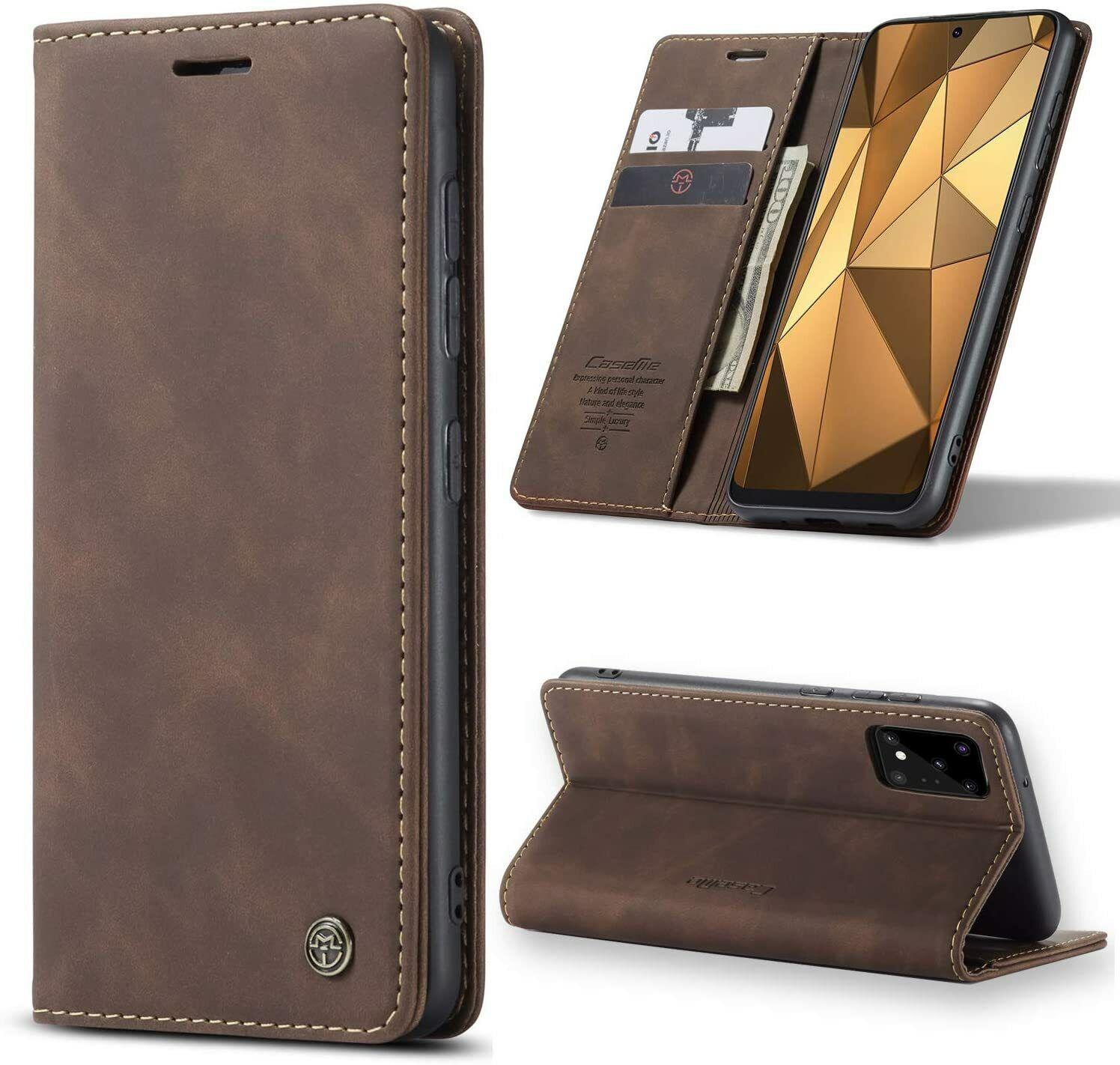 Hülle Samsung Galaxy A51 Galaxy A71 Magnet Leder Handy Tasche Schutzhülle Case