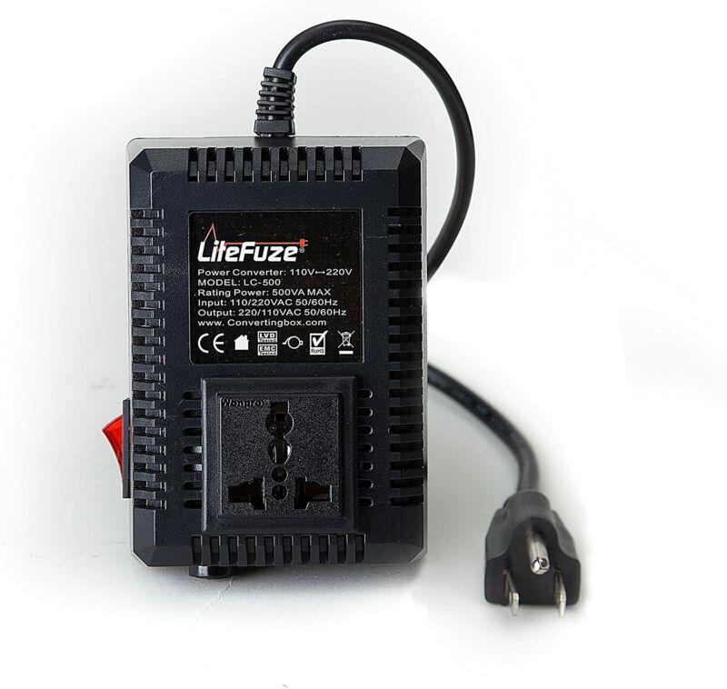 500 W Watt Good Heavy Duty Step Up Down 110 - 220 Voltage Converter Transformer