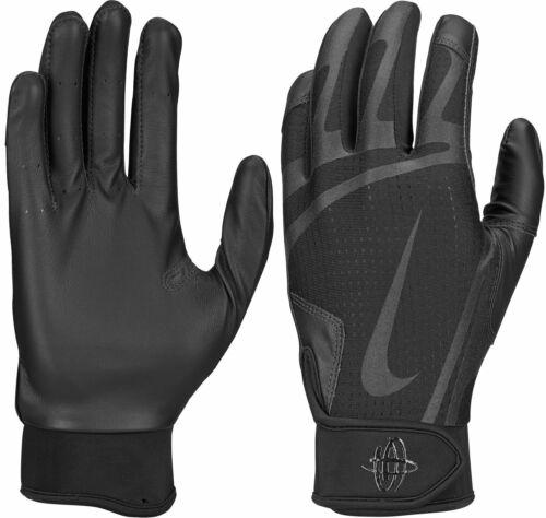 NEW Nike Youth Huarache Edge Baseball Batting Gloves M,L,XL Black or Royal Blue