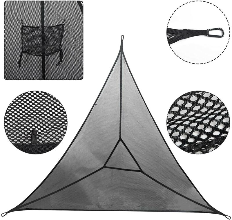 3 Point Hammock -- Triangle Hammock -- Perfect for use at Home or for Camping!