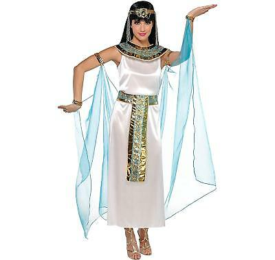 Amscan Queen Cleopatra Egyptian Adult Costume, X-Large (Dress Size 14-16) - Female Egyptian Costume