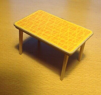 Vintage  LUNDBY DOLLS HOUSE KITCHEN TABLE