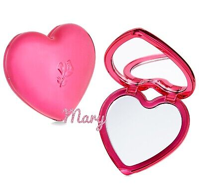 Lancome Exclusive Limited Edition Heart-Shaped Compact Mirror Heart Limited Edition