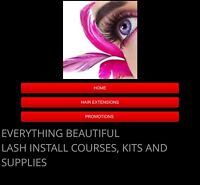 Make $$500/day$$ LASH EXTENSION CERTIFICATION COURSES