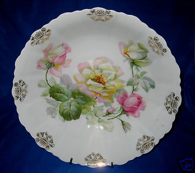 Lovely Rose Decorated Porcelain Bowl - Circa 1920's  Great Gift Idea for Friends - 1920 Decorating Ideas