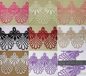 3-Yards-Polyester-Venise-Lace-Fringe-Embellishment-Sewing-Costume-Applique-Trims